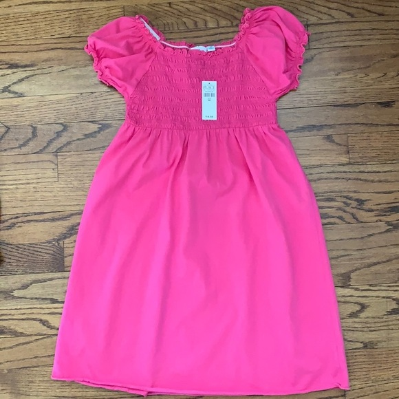 THE CHILDREN'S PLACE SMOCKED PINK DRESS